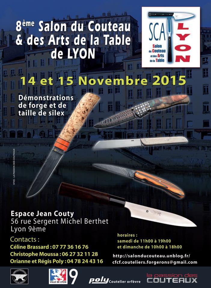 scat lyon 2013 salon du couteau des arts de la table